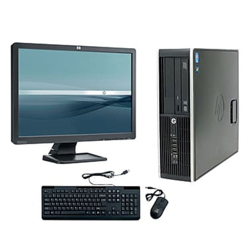 Cpu + Monitor Hp Compac Elite Core I7 4gb 500gb - Novo