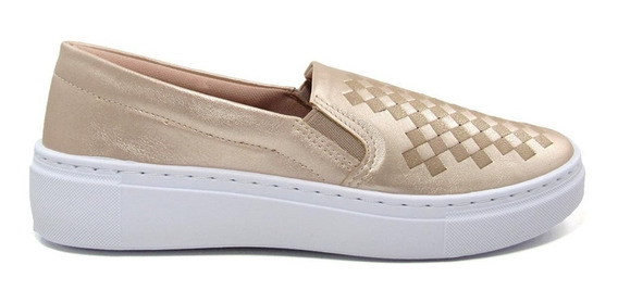 Tênis Slip On Feminino Olfer Shoes 1246-023