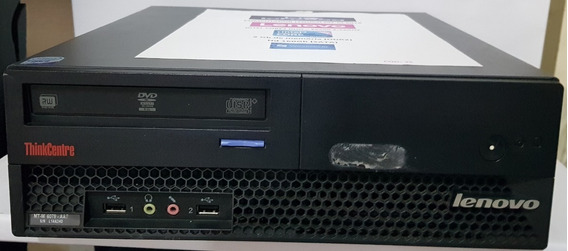 Cpu Lenovo Thinkcentre Mt-m 6078,core2 Duo,2gb,hd160gb-w10