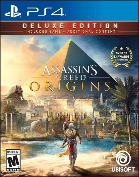 Assassins Creed Origins Ps4 1 Prima Midia Digital Envio Já