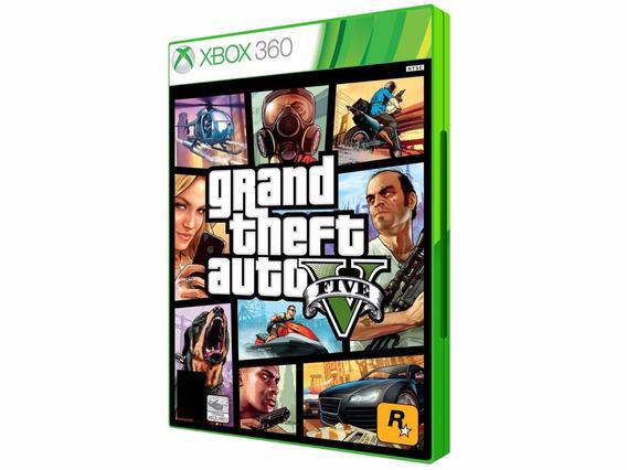 Gta V Para Xbox 360 - Com Frete Grátis!