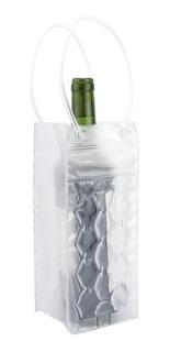 2 Sacola Bolsa Embalagem Térmica Para Vinho Presente Pvc Gel