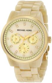 Relógio Michael Kors Mk5039 Jet Set Madréperola Original