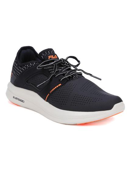 Tênis Esportivo Masculino Fila Fit Tech Preto/laranja 40