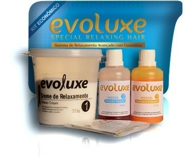 Mini Kit Economico De Relaxamento Regular Evoluxe 225g