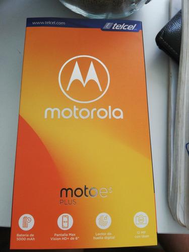 Imagen 1 de 3 de Motorola E5 Plus Nuevo Sellado Libre De Fabrica