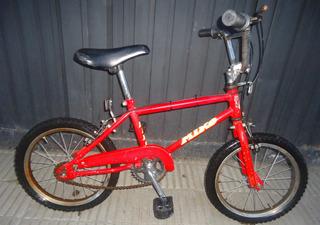 Bicicleta Niño Color Rojo