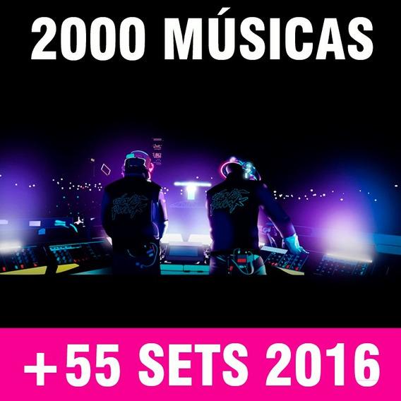 Super Kit Dj 2000 Músicas Até 2016 + 55 Setsmix Frete Gratis