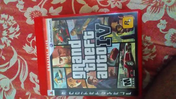 Gta 4 Grand Theft Auto Iv 4 Ps3 Original