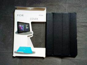 Case C/ Suporte P/ iPad & Tablet Até 8 Polegadas Preta