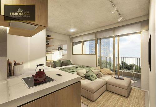 Imagem 1 de 10 de Studio Com 1 Dormitório À Venda, 31 M² Por R$ 862.030,00 - Cerqueira César - São Paulo/sp - St0928
