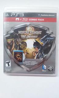 Juego Para Ps3 Mortal Kombat Vs Dc Universe