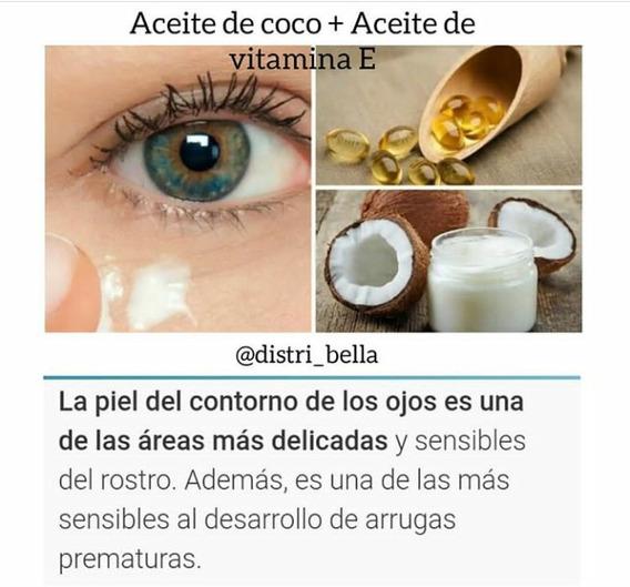 Aceite De Coco + Aceite De Vinamina E