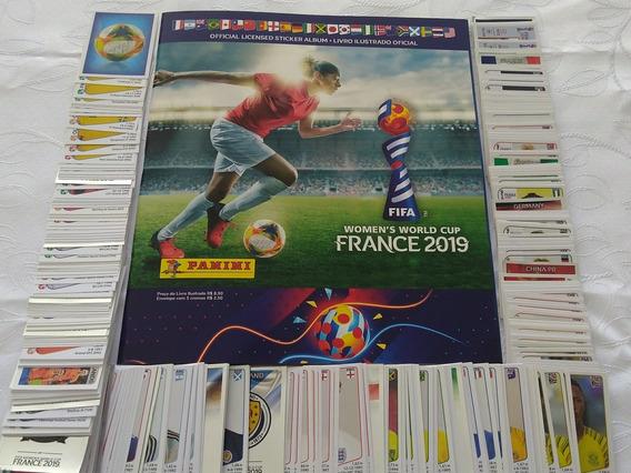 Álbum Copa Do Mundo Feminina 2019 (frança) Completo P/colar