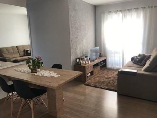 Imagem 1 de 6 de Apartamento Com 3 Dormitórios À Venda, 60 M² Por R$ 215.000 - Jardim Nova Vida - Cotia/sp - Ap4779