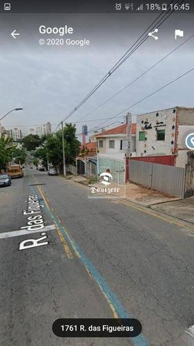 Prédio À Venda, 140 M² Por R$ 1.170.000,10 - Campestre - Santo André/sp - Pr0081