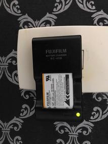 Carregador E Bateria Original Para Câmeras Fujifilm