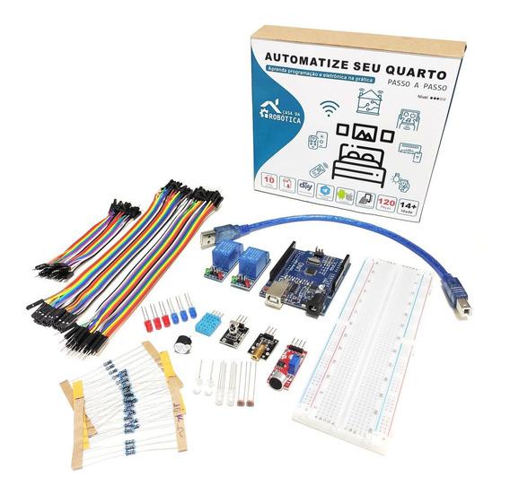 Kit Automação Residencial Robótica Com Tutorial Para Arduino