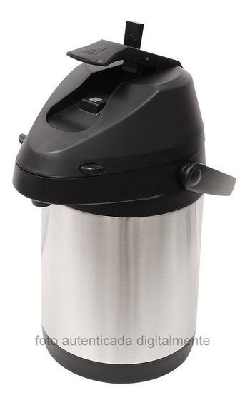 Garrafa Térmica Quente E Frio Aço Inox Inquebrável 2,5lts