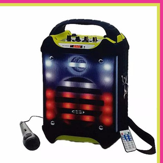 Parlante Portatil Karaoke Con Microfono 20+5w Bluetooth M66d