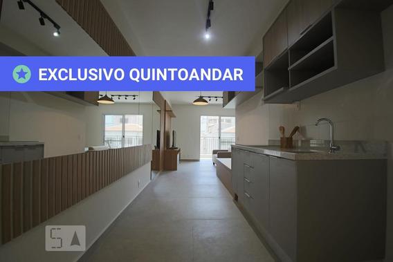 Studio No 11º Andar Mobiliado Com 1 Dormitório E 1 Garagem - Id: 892970595 - 270595