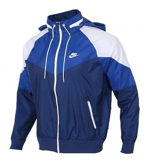 Corta Vento Jaqueta Masculina Impermeável Lançamento Azul