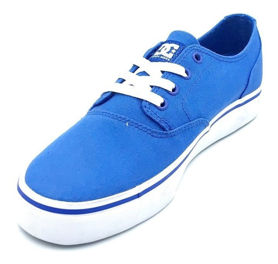 Tenis Dc Niños Azules Flash 2 Tx Adys30242