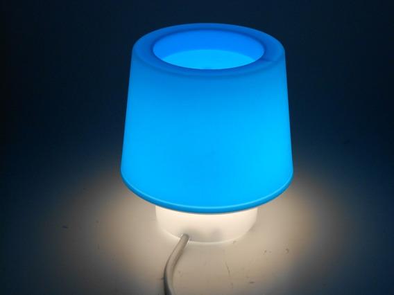 Luminária De Mesa Candy Blue
