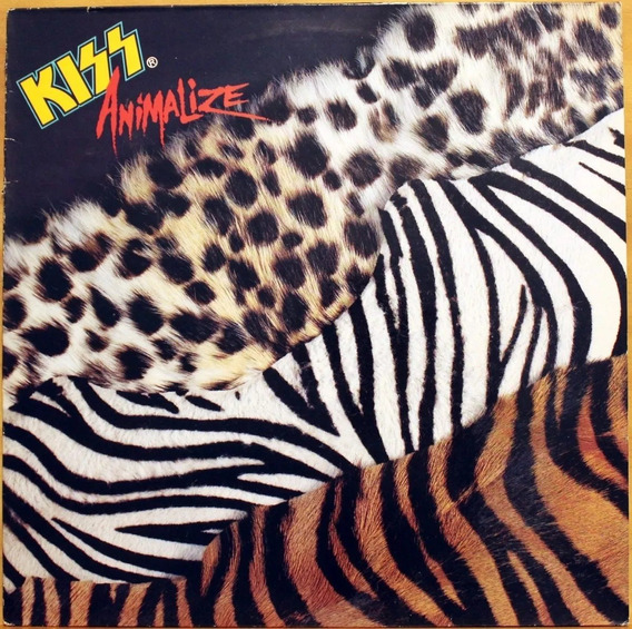 Kiss, Animalize (1984) - Lp