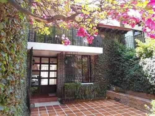 Hermosa Casa En Condominio En Renta , Estilo Colonial En Tlacopac (s)