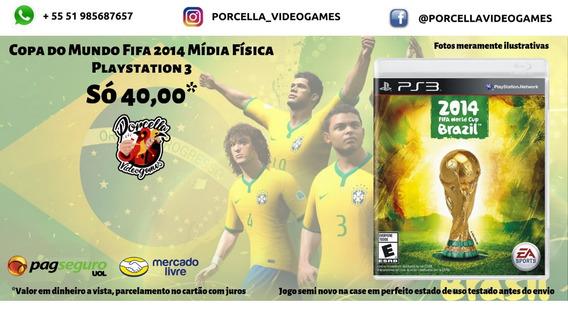 Jogo Copa Do Mundo 2014 Ps3original Midia Física Para Play 3