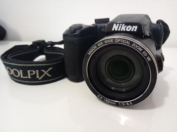 Camera Nikon Cookpix B500 Na Caixa+bolsa+tripé+kit De Pilhas