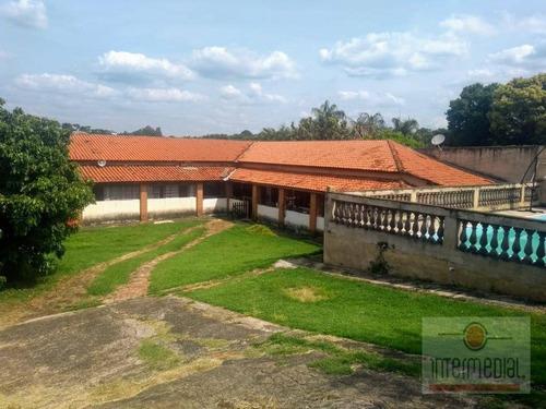 Chácara Com 3 Dormitórios À Venda, 757 M² Por R$ 800.000 - Portal De Iperó - Iperó/sp - Ch0602