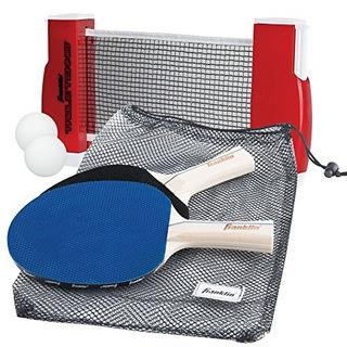 Franklin Sports Table Tennis To Go - Incluye 2 Paletas De Pi
