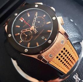 Elegantes Relojes Hublot Cronografos Para Caballero