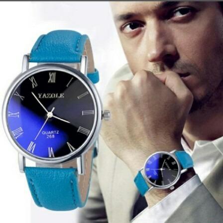 Relogio Analog Elegante Executivo Luxo Para Homens Exigentes