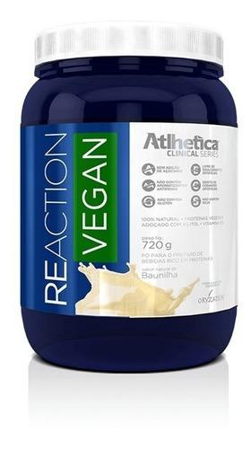Reaction Vegan (720g) - Atlhetica Vegan- Melhor Opção Vegana
