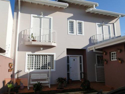 Casa Com 2 Dormitórios À Venda, 140 M² Por R$ 630.000,00 - Residencial Terras Do Barão - Campinas/sp - Ca2286