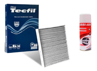 Filtro Ar Condicionado + Higienizador Vw Fox 1.6 8v 2014