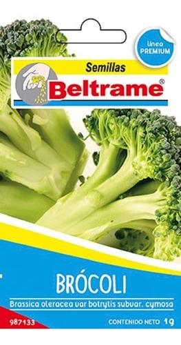 Semillas De Brocoli Beltrame 1g Huerta