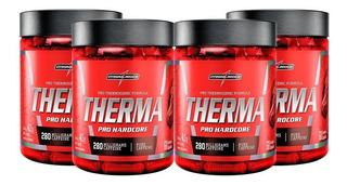 4x Termogênico Therma Pro Harcore 60caps - Integral Médica