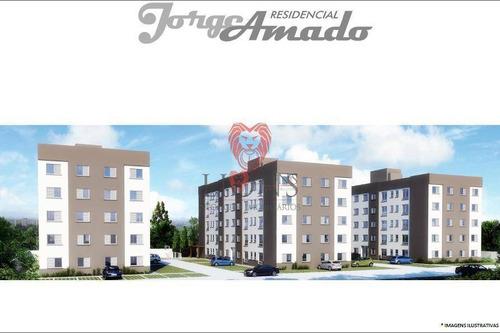 Apartamento Com 2 Dormitórios À Venda, 50 M² - São Vicente - Gravataí/rs - Ap0565
