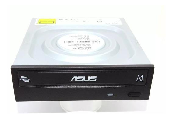 Drive Asus Gravador De Dvd 24x Black - Drw 24f1mt /blk/b/as