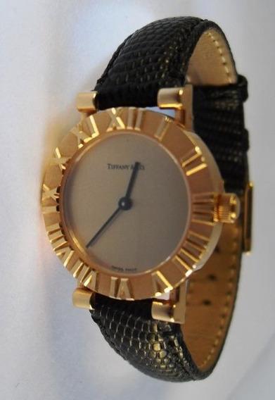 Reloj Tiffany & Co Atlas Oro 18 Kilates Original