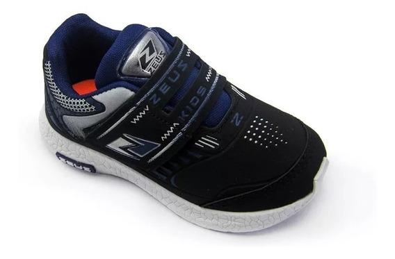 Tênis Jogging Infantil Baby Zeus Qx 21 Ao 27