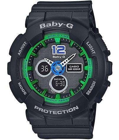 Relógio Casio Baby-g Feminino Anadigi Ba-120-1bdr