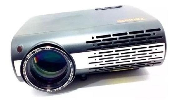 Projetor Datashow Led Cinema 4000 Lumens Hdmi Usb Vga Av Rca
