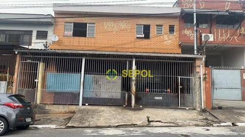 Casa Para Renda Com 4 Casas E 2 Saloes  À Venda Por R$ 1.650.000 - Vila Nova York - São Paulo/sp - Ca0635