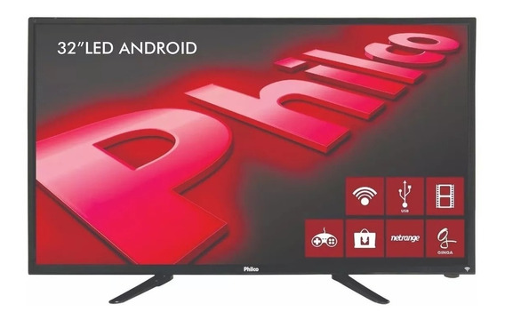 Smart Tv Led 43 Philco Ph43e30dsgw Full Hd 3 Hdmi 1 Usb Wi-f