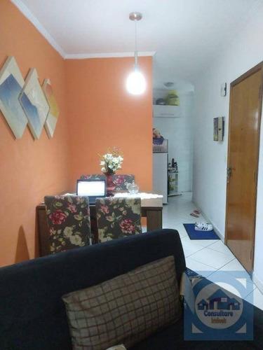 Imagem 1 de 18 de Apartamento Com 2 Dormitórios À Venda, 70 M² Por R$ 265.000,00 - Boqueirão - Praia Grande/sp - Ap5673